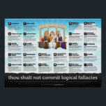 "Logical Fallacies Poster<br><div class=""desc"">Logical Fallacies Poster.</div>"