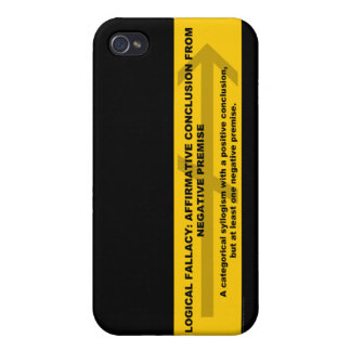 Logical Fallacy: Affirmative Conclusion... iPhone 4/4S Case