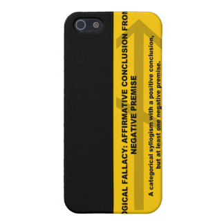 Logical Fallacy: Affirmative Conclusion... iPhone SE/5/5s Cover