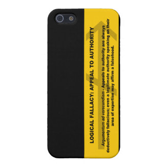 Logical Fallacy: Appeal to Authority Case For iPhone SE/5/5s