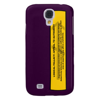 Logical Fallacy: Appeal to Authority Samsung S4 Case