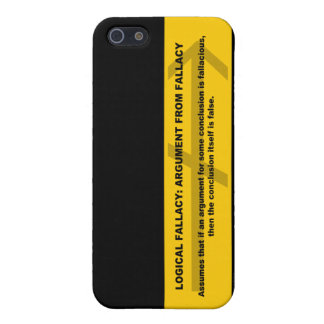 Logical Fallacy: Argument from Fallacy Cover For iPhone SE/5/5s