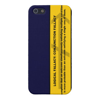 Logical Fallacy: Conjunction Fallacy Case For iPhone SE/5/5s