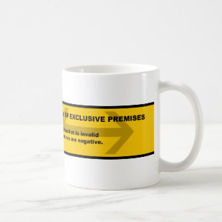 Logical Fallacy: Fallacy of Exclusive Premises Coffee Mug