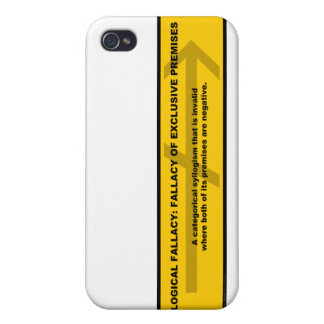 Logical Fallacy: Fallacy of Exclusive Premises iPhone 4/4S Case