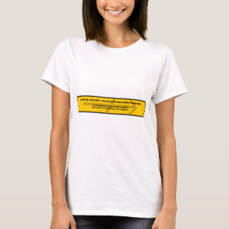 Logical Fallacy: Fallacy of Exclusive Premises T-Shirt