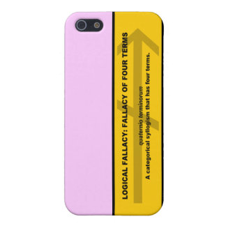 Logical Fallacy: Fallacy of Four Terms iPhone SE/5/5s Case