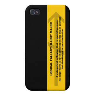 Logical Fallacy: Illicit Major iPhone 4/4S Cover