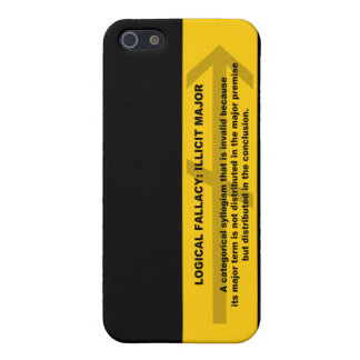 Logical Fallacy: Illicit Major iPhone SE/5/5s Case