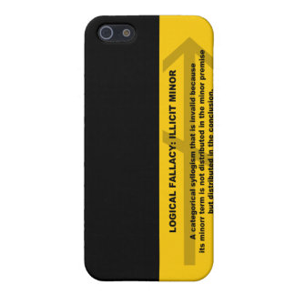 Logical Fallacy: Illicit Minor Cover For iPhone SE/5/5s