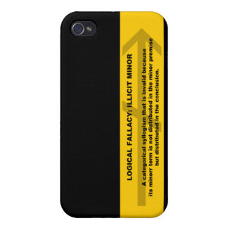 Logical Fallacy: Illicit Minor iPhone 4/4S Case