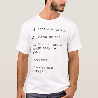 logical resume #1 T-Shirt