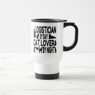 Lógico del amante del gato taza térmica