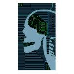 logicskull encendido tarjeta de visita
