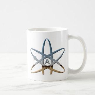 Logidea atheist atomic symbol coffee mug
