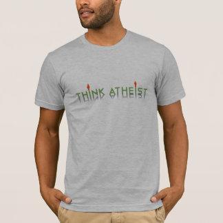 Logidea Think Atheist logo T-Shirt