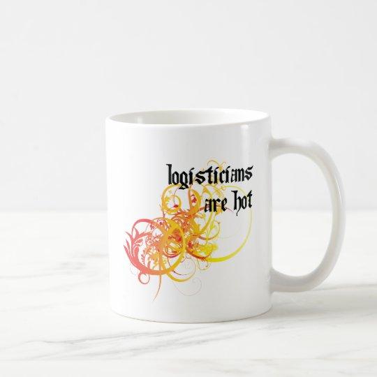 Logisticians Are Hot Coffee Mug