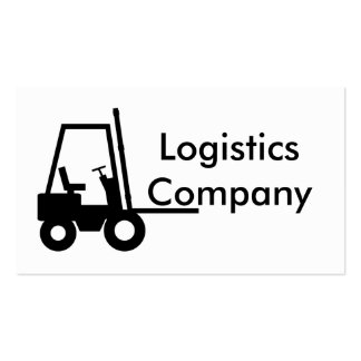 Logistics Company Tarjetas De Visita