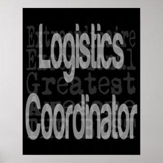 Logistics Coordinator Extraordinaire Poster