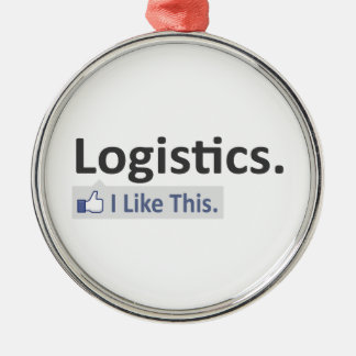 Logistics ... I Like This Metal Ornament