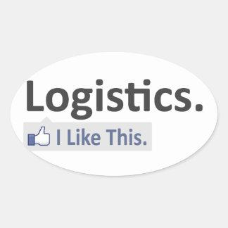 Logistics ... I Like This Oval Sticker