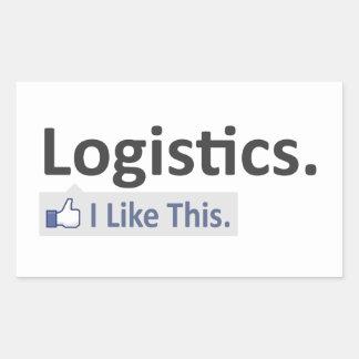 Logistics ... I Like This Rectangular Sticker