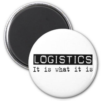 Logistics It Is 2 Inch Round Magnet