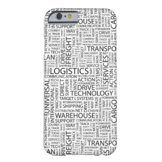 LOGISTICS pattern with words Barely There iPhone 6 Case