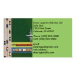 Logistics Transportation Move Goods Business Card