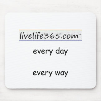 logo5x[1], every day every way mouse pad