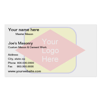 Watermark business cards templates zazzle for Watermark business cards