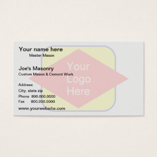 Watermark business cards templates zazzle logo background watermark effect business card colourmoves Images