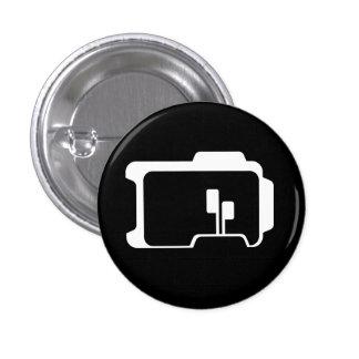 Logo (Black) 1 Inch Round Button