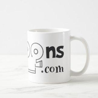 logo black coffee mug