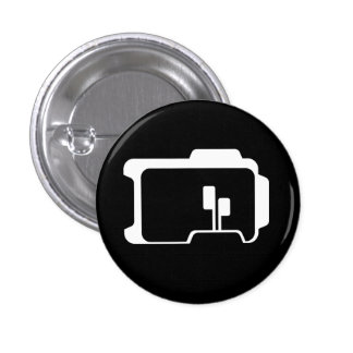 Logo (Black) Pinback Button