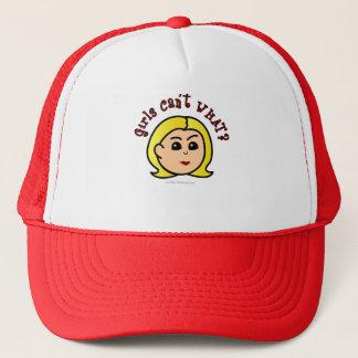 Logo - Blonde Trucker Hat