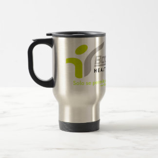 Logo Bodyshape, Solo se permite una bebida salu... Coffee Mug