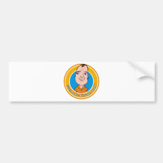 logo bola car bumper sticker