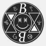 Logo Bromance Smiley Stickers