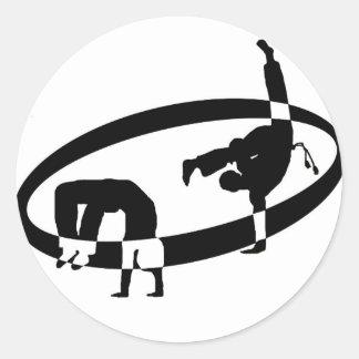 logo  capo classic round sticker