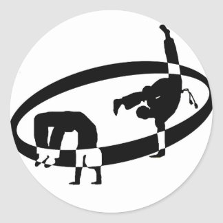 logo  capo round stickers