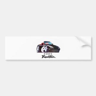 logo car image bumper sticker