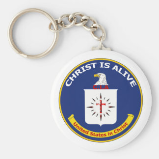 "Logo CIA ""Christ Is Alive"" Keychains"