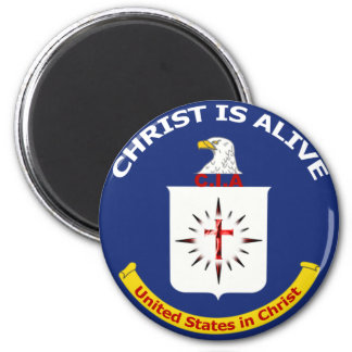 """Logo CIA """"Christ Is Alive"""" Magnets"""