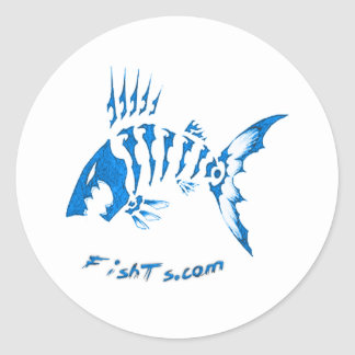 Logo Collection by FishTs.com Classic Round Sticker