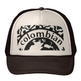 LOGO COLOMBIA GORRAS DE CAMIONERO