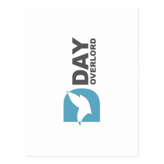 Logo D-Day Overlord profile Postcard