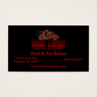 Logo Dark4, Walt & Pat Bailey, 10136 Dixie HwyF... Business Card