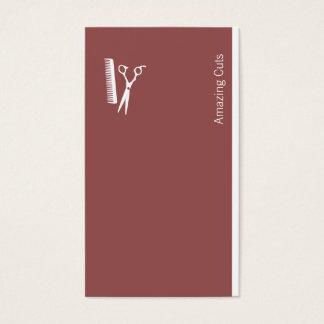 Logo (dark chestnut) business card