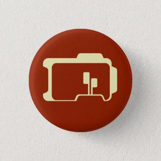 Logo (Dark Red) Pinback Button